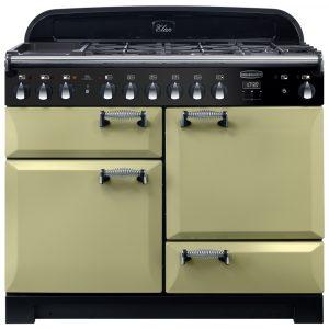 Rangemaster ELA110DFFOG/ Elan Deluxe 110cm Dual Fuel Range Cooker 118040 – GREEN