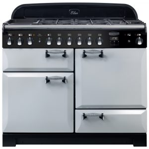 Rangemaster ELA110DFFRP/ Elan Deluxe 110cm Dual Fuel Range Cooker 118020 – ROYAL PEARL