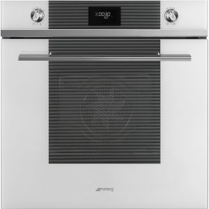 Smeg SFP6101TVB Linea Pyrolytic Multifunction Single Oven – WHITE