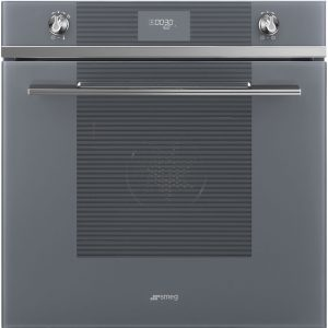 Smeg SFP6101TVS Linea Pyrolytic Multifunction Single Oven – SILVER