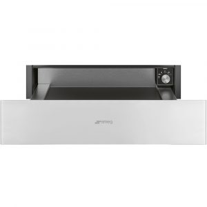 Smeg CPR115B 15cm Linea Warming Drawer – WHITE