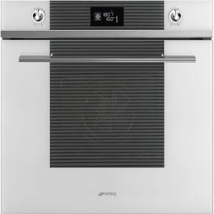 Smeg SFP6102TVB Linea Pyrolytic Multifunction Single Oven – WHITE