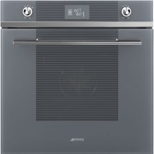 Smeg SFP6102TVS Linea Pyrolytic Multifunction Single Oven – SILVER