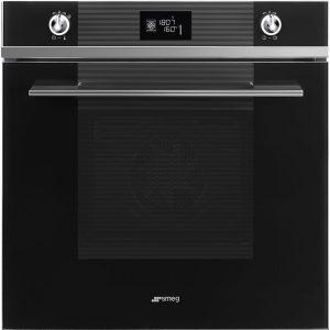 Smeg SFP6102TVN Linea Pyrolytic Multifunction Single Oven – BLACK