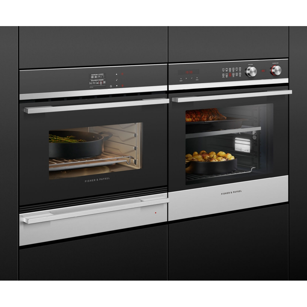 Fisher Paykel Om60ndb1 Built In Combination Microwave