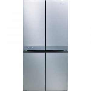 Hotpoint HQ9E1L French Style 4 Door Jupiter Fridge Freezer – STAINLESS STEEL