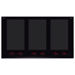 CDA HN9850FR 90cm Frameless 6 Zone Induction Hob – BLACK