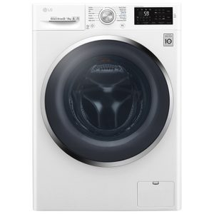 LG F4J6AM2W 8kg Direct Drive Washer Dryer - WHITE