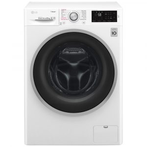 LG F4J6JY1W 10kg Steam Washing Machine - WHITE
