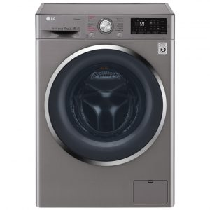 LG F4J6YJS2 10kg Steam Washing Machine - GRAPHITE