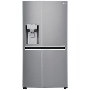 Britannia FF-MONTANA-S American Style Fridge Freezer With Ice & Water – STAINLESS STEEL