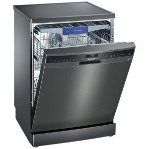 Siemens SN258B00ME IQ-500 60cm Freestanding Dishwasher – BLACK STEEL