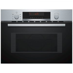Bosch CMA583MS0B Built In Compact Combi Microwave For Tall Housing – STAINLESS STEEL