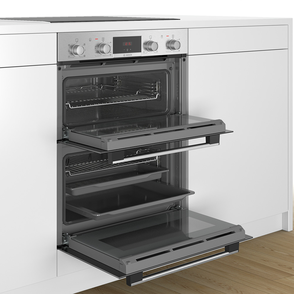 bosch nbs113br0b built under double oven stainless steel. Black Bedroom Furniture Sets. Home Design Ideas