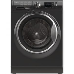 Hotpoint NM11946BCA 9kg ActiveCare Washing Machine 1400rpm – BLACK