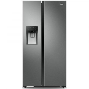 Haier HRF-636IM6 American Style Fridge Freezer Ice And Water – SILVER