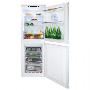 CDA FW925 178cm Integrated 50/50 Frost Free Fridge Freezer
