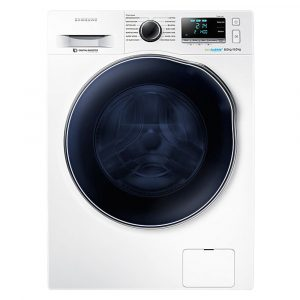 Samsung WD80J6A00AW 8kg Ecobubble Washer Dryer – WHITE - WHITE