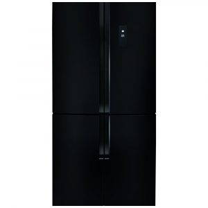 CDA PC880BL 80cm Four Door Fridge Freezer – BLACK