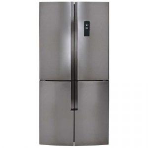 CDA PC880SC 80cm Four Door Fridge Freezer - SILVER