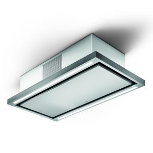 Elica CLOUD SEVEN RC 90cm Recirculating Ceiling Extractor - STAINLESS STEEL