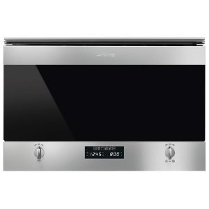 Smeg MP322X1 Built In Classic Microwave And Grill For Wall Unit – STAINLESS STEEL