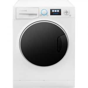 Hotpoint RZ1066WH 10kg Ultima S-Line+ Washing Machine 1600rpm – WHITE - WHITE