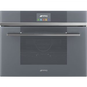 Smeg SF4104VCS 45cm High Compact Linea Steam Combination Oven – SILVER
