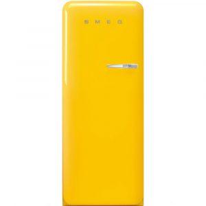 Smeg FAB28LYW3UK Retro Refrigerator Left Hand Hinge – YELLOW