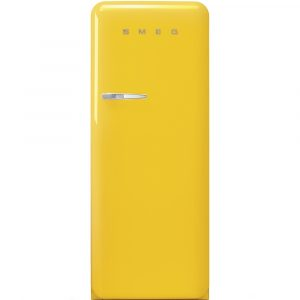 Smeg FAB28RYW3UK Retro Refrigerator Right Hand Hinge – YELLOW