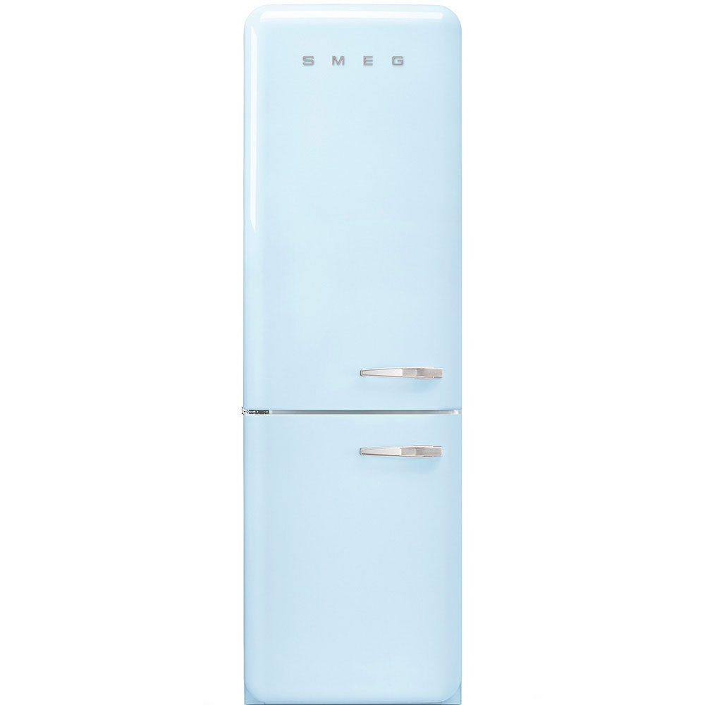 Smeg Fab32lpb3uk Retro Frost Free Fridge Freezer Left Hand