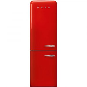 Smeg FAB32LRD3UK Retro Frost Free Fridge Freezer Left Hand Hinge – RED