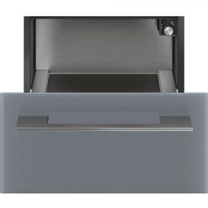 Smeg CR129S 29cm Linea Warming Drawer – SILVER