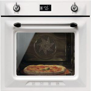 Smeg SF6922BPZE1 Victoria Single Multifunction Oven – WHITE