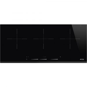 Smeg SIH7933B 90cm Bevelled Edge Induction Hob – BLACK