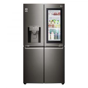 LG GMX936SBHV Instaview Door In Door French Style Fridge Freezer – BLACK