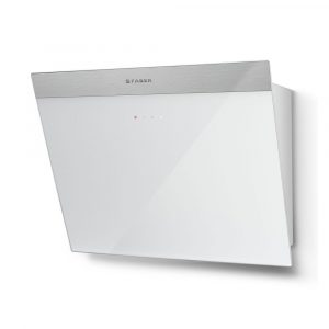 Faber DAISY B EG6 WH A55 Daisy B 55cm Rear Duct Angled Chimney Hood – WHITE