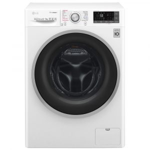LG F4J7FH1W 9kg Direct Drive TrueSteam EcoHybrid Washer Dryer – WHITE