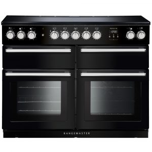 Rangemaster NEXSE110EIBL/C Nexus SE 110 Induction Range Cooker 118240 – BLACK
