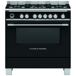 Fisher Paykel OR90SCG6B1 90cm Pyrolytic Dual Fuel Range Cooker – BLACK