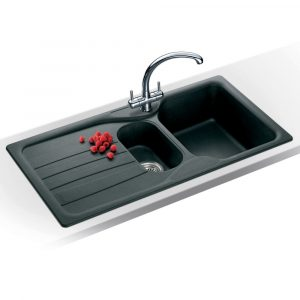 Franke COG651 GR Calypso Fragranite 1.5 Bowl Sink – GRAPHITE