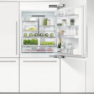 Fisher Paykel RS9120WRJ1 91cm Integrated Fridge Freezer With Ice Maker Right Hand Hinge