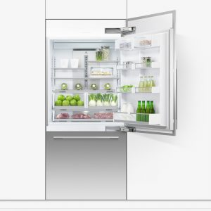 Fisher Paykel RS9120WRU1 91cm Integrated Fridge Freezer With Ice & Water Right Hand Hinge
