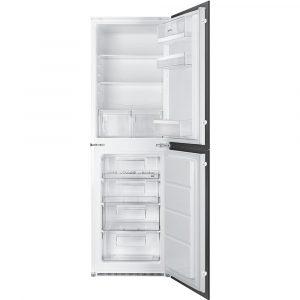 Smeg UKC3170P1 178cm Integrated 50/50 Fridge Freezer