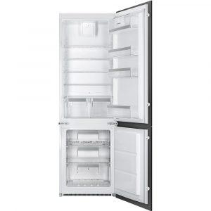 Smeg UKC7280NEP1 178cm Integrated 70/30 Frost Free Fridge Freezer