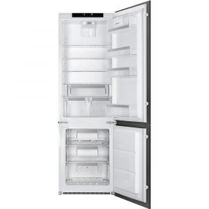Smeg UKC7280NLD2P1 178cm Integrated 70/30 Frost Free Fridge Freezer