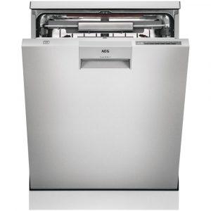 AEG FFE63806PM 60cm Freestanding ComfortLift Dishwasher – STAINLESS STEEL