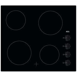 AEG HK614000CB 60cm 4 Zone Ceramic Hob – BLACK