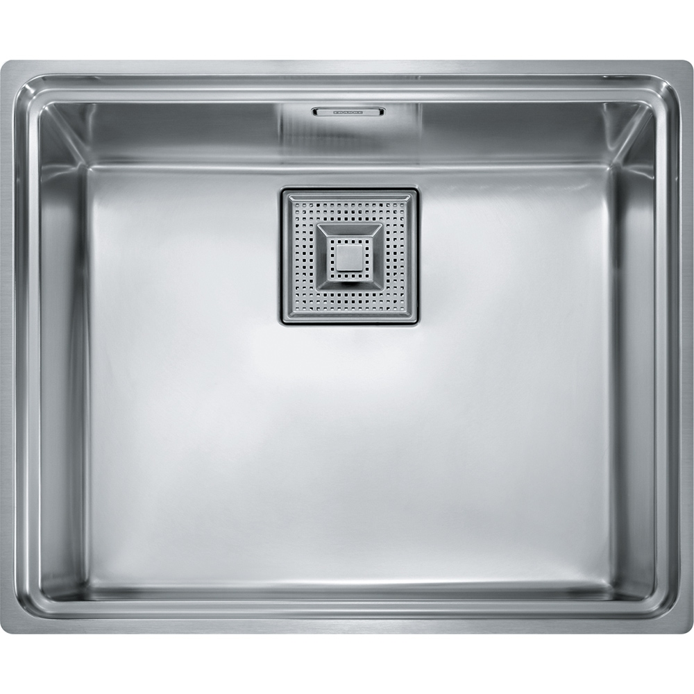 Image of Franke CENTINOX CEX210 Centinox Single Bowl Inset Sink - STAINLESS STEEL