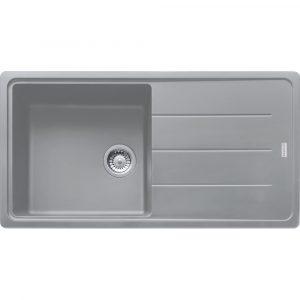 Franke BFG611-970 SG Basis Fragranite Single Bowl Sink – STONE GREY